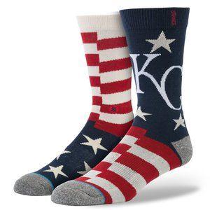 STANCE Kansas City Royals Brigade Socks Sz L 9-13